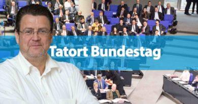 Morddrohungen über das Bundestagskontaktformular erhalten
