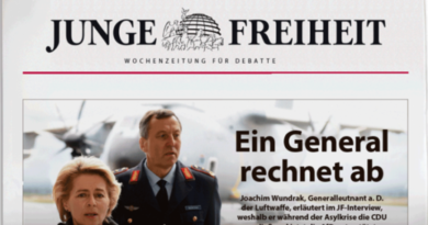 Generalleutnant a.D. Joachim Wundrak rechnet mit Kanzlerin Merkel ab