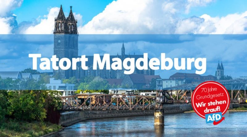 Wegen seiner Zivilcourage wurde ein Mann in Magdeburg komareif geschlagen!