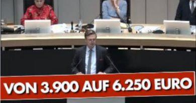Berliner Altparteien erhöhen Diäten um 58%, beschimpfen die Nein-sagende AfD