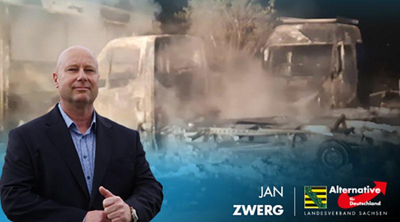 Nach Gewalt- und Brandanschlägen: AfD fordert Sicherheitskonzept von Regierung