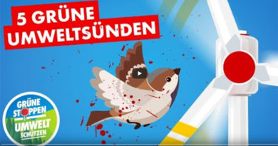 "AfD startet Kampagne ""Grüne stoppen! – Umwelt schützen!"""