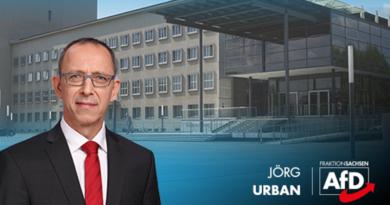Jörg Urban, AfD Fraktionsvorsitzender, Bild: AfD