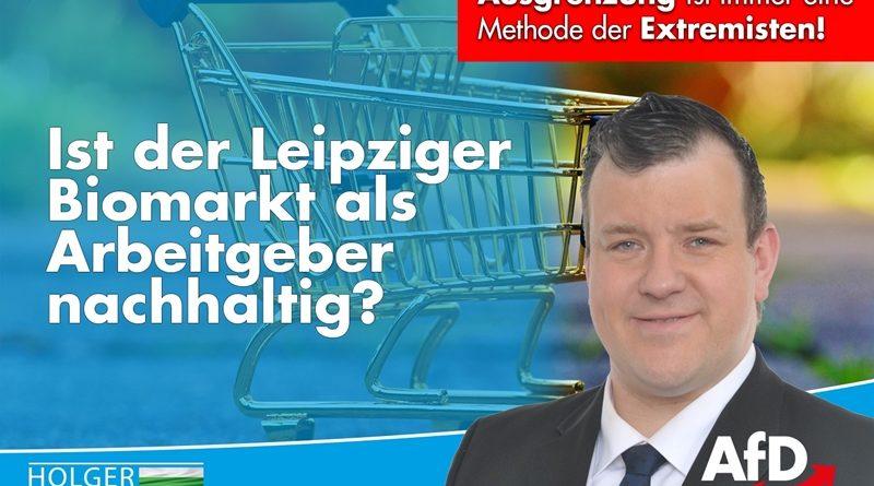 Der Leipziger Biomarkt als Arbeitgeber nachhaltig?
