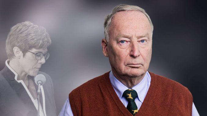 Anschuldigung von Kramp-Karrenbauer gegen die AfD zurückgewiesen