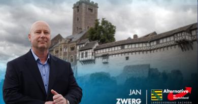 AfD-Generalsekretär, Jan Zwerg, zur Thüringen-Wahl