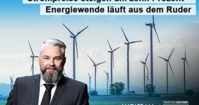 Strompreise steigen um zehn Prozent – Energiewende läuft aus dem Ruder