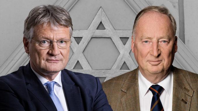 Prof. Dr. Jörg Meuthen MdEP (li) und Dr. Alexander Gauland MdB (re), Bundessprecher der AfD, FotoAfD/Pixabay-3644261-CC0-https://creativecommons.org/publicdomain/zero/1.0/?ref=ccsearch&atype=rich