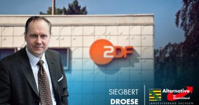 Siegbert Droese: Leipziger Grüne mimt im ZDF die unbeteiligte Dritte!