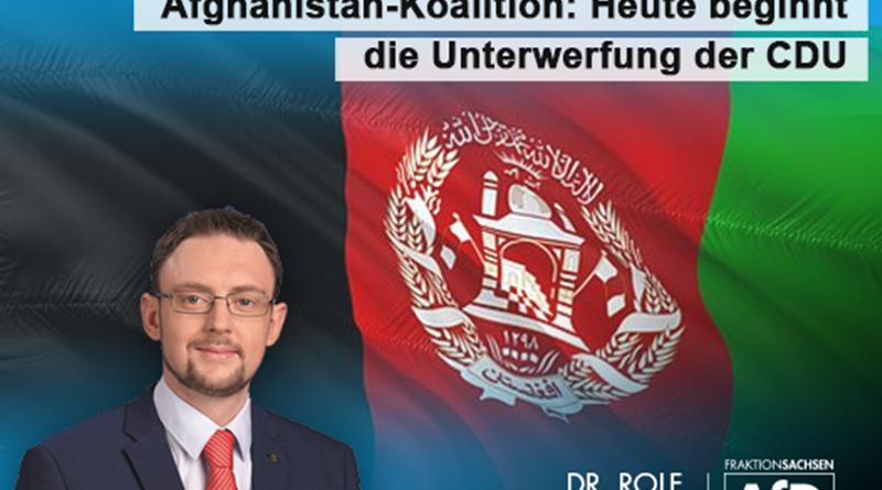 Afghanistan-Koalition: Heute beginnt die Unterwerfung der CDU