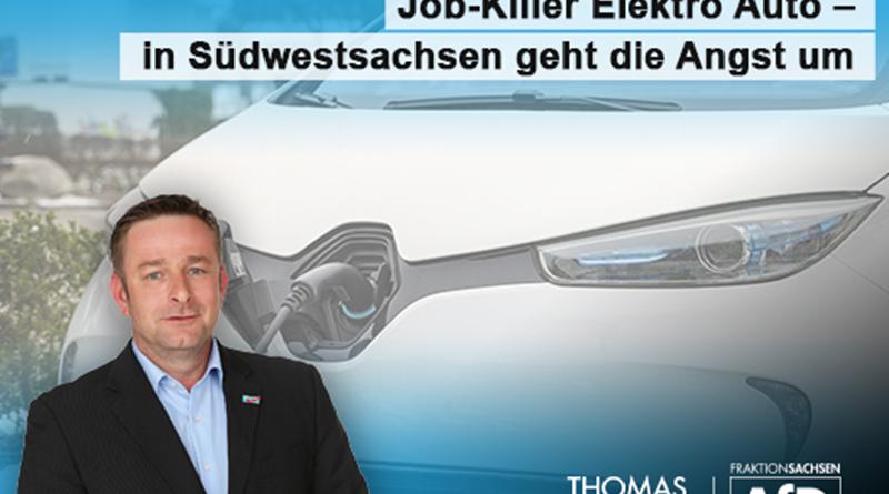 Job-Killer Elektro-Auto – in Südwestsachsen geht die Angst um