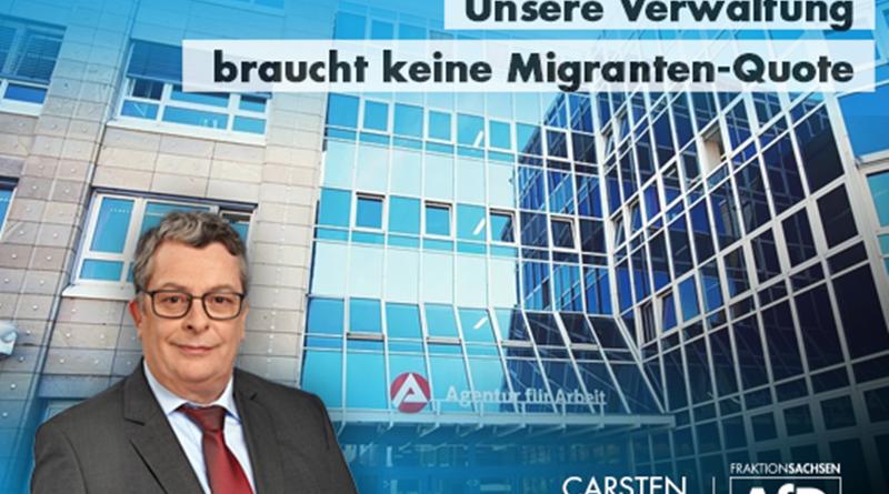 Unsere Verwaltung braucht keine Migranten-Quote