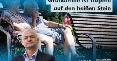 Grundrente ist Tropfen auf den heißen Stein: AfD-Fraktion hat anderen Konzeptentwurf
