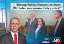 """1. Sitzung Wahlprüfungsausschuss: """"Wir holen uns unsere Liste zurück!"""""""