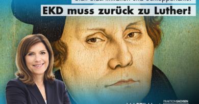 Statt Stasi-Imitation und Schleppertaxis: EKD muss zurück zu Luther!
