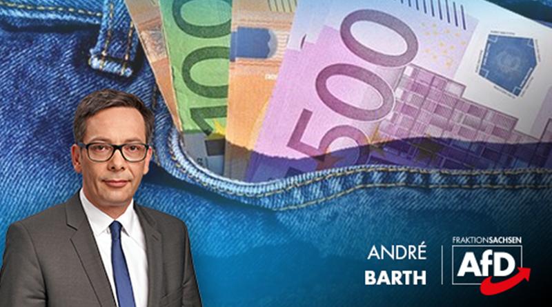 Finanziert die sächsische CDU-Regierung ihre Politik über Schleichwege?