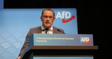 Tino Chrupalla zum zweiten AfD-Bundessprecher gewählt