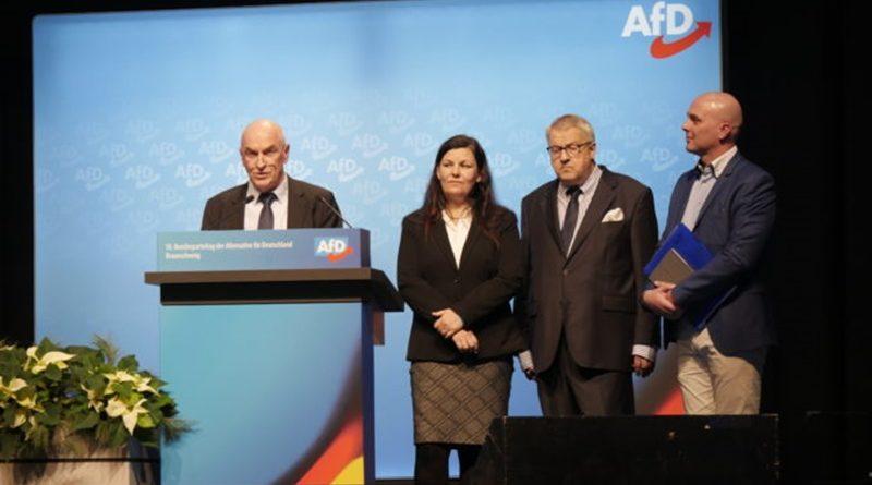 Der AfD-Bundesvorstand wurde für die Geschäftstätigkeit 2017-2019 entlastet