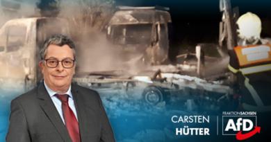 Linksterrorismus: 115 Brandanschläge in Sachsen!