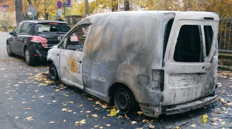 Wieder linksextremistischer Brandanschlag?