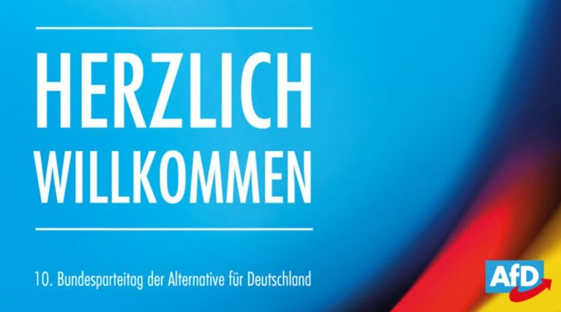 Tagesordnung des 10. Bundesparteitags der AfD in Braunschweig