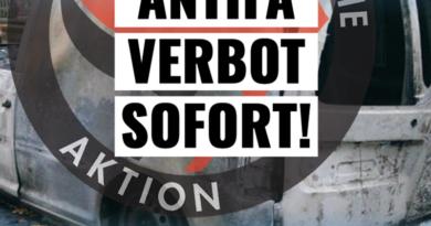 Linker Terror geht weiter – Regierung muss Antifa sofort verbieten