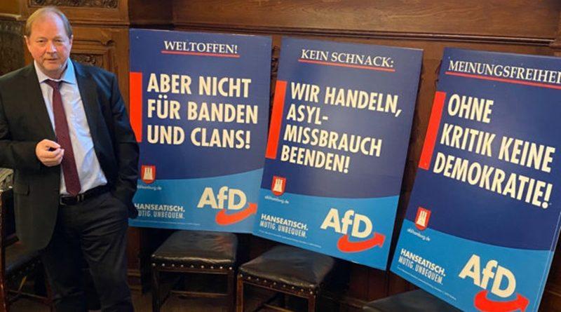 Hanseatisch, mutig, unbequem: AfD tritt mit 7 Plakaten zur Bürgerschaftswahl an