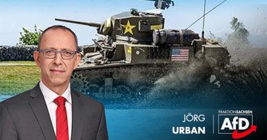 Frieden mit Russland sichern: Keine US-Truppentransporte durch Sachsen!