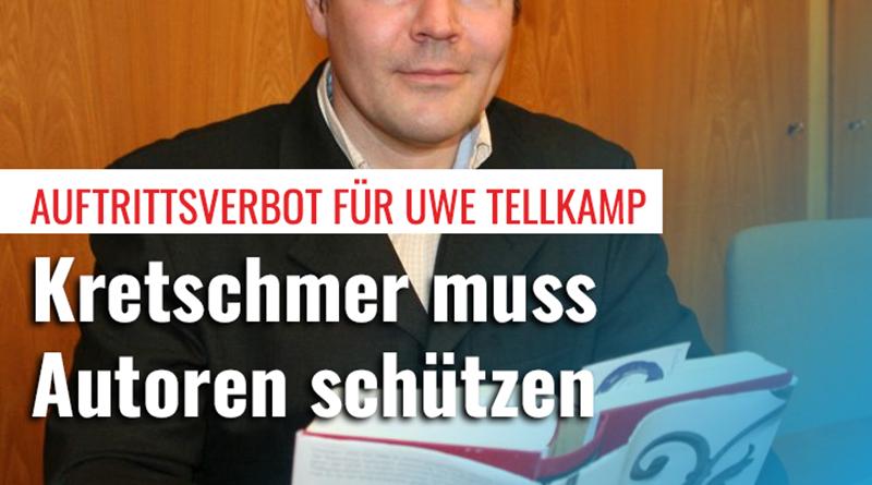 Auftrittsverbot für Tellkamp: Kretschmer muss sich schützend vor den Autor stellen