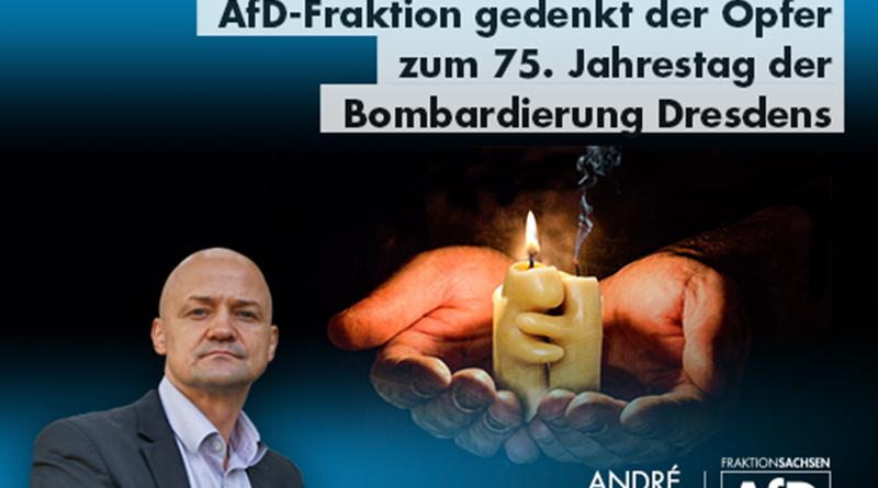 Morgen jährt sich die Bombardierung der Stadt Dresden zum 75. Mal.