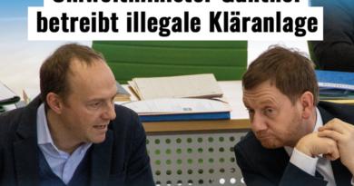 Grüner Umweltminister Günther ist Beispiel für Doppelmoral