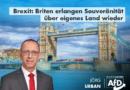 Brexit: Briten erlangen Souveränität über eigenes Land wieder