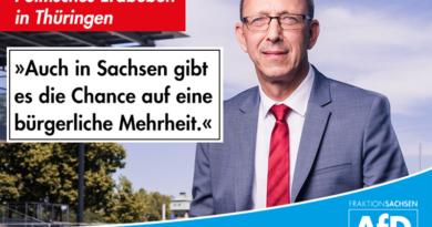 Auch in Sachsen gibt es die Chance auf eine bürgerliche Mehrheit