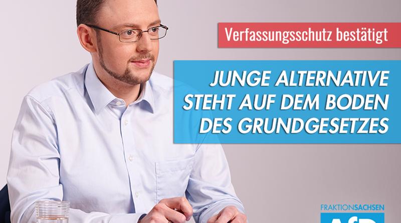Verfassungsschutz bestätigt freiheitlich-demokratische Ausrichtung der Jungen Alternative