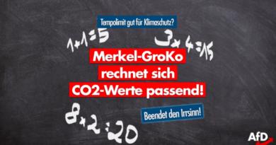 Tempolimit – wie sich die Merkel-Regierung mal schnell neue Zahlen zaubert!