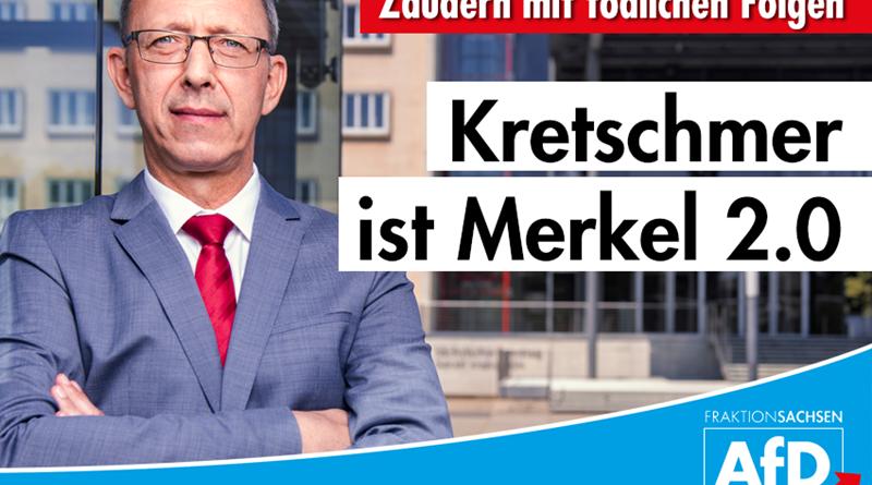 Zaudern mit tödlichen Folgen: Kretschmer ist Merkel 2.0