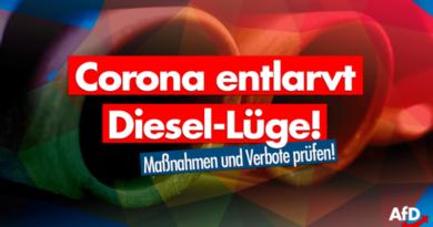 Corona entlarvt die Diesel-Lüge