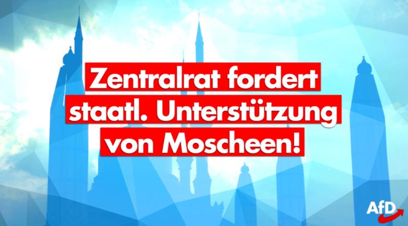 Irre Forderung der Moscheen: Weil keine Spenden mehr kommen, sollen jetzt die Deutschen zahlen