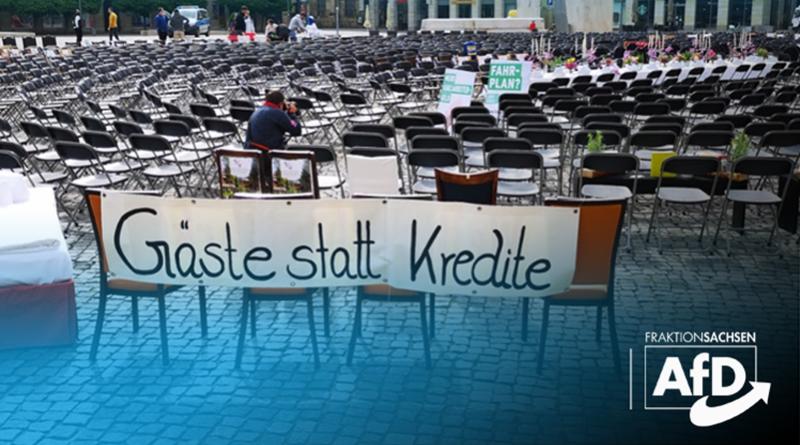 Protestaktion der Tourismusbranche: Staatsregierung muss nachbessern