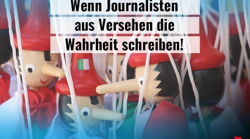 Wenn linke Journalisten aus Versehen die Wahrheit schreiben!