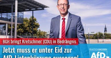 BGH bringt Kretschmer (CDU) in Bedrängnis: Jetzt muss er unter Eid zur AfD-Listenkürzung aussagen!