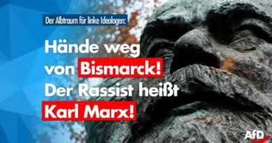 Hände weg von Bismarck! Schaut auf Marx – einen der übelsten Rassisten und Antisemiten!