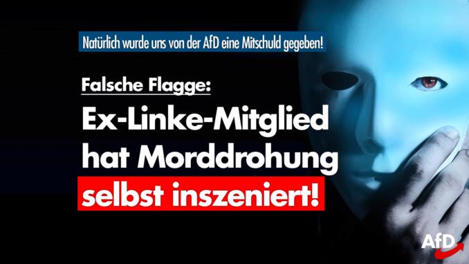 """Linke Fake-News fliegt auf: """"Rechter Terror"""" war hausgemacht"""