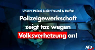 """Wegen Hetze gegen die Polizei: """"taz"""" wegen Volksverhetzung angezeigt"""
