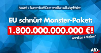 EU schnürt 1,8-Billionen-Euro-Paket: Wer soll das je bezahlen?