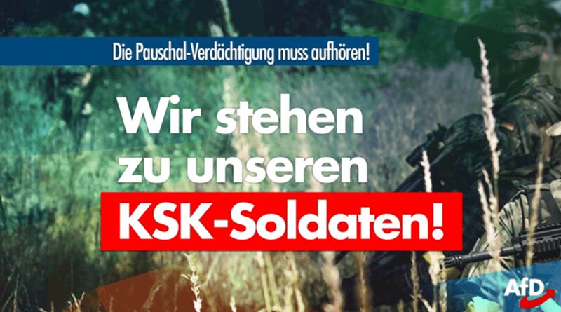 Wir stehen zu unseren KSK-Soldaten!