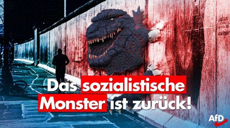 Jahrestag des Mauerbaus – Das sozialistische Monster ist zurück