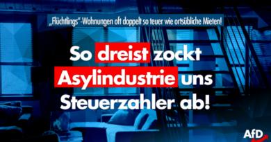 """Rüge vom Rechnungshof: """"Flüchtlings""""-Wohnungen oft doppelt so teuer wie ortsübliche Mieten!"""