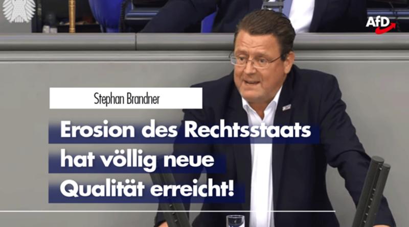 Stephan Brandner zur Erosion des Rechtsstaats